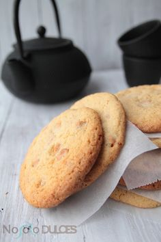 No solo dulces - Galletas toffe butterscotch chip cookies