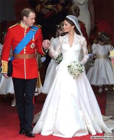 I loved Kate's dress but I also enjoy them as a couple.