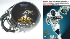 AAA Sports Memorabilia LLC - Fred Taylor Autographed Jacksonville Jaguars Authentic Mini Helmet (includes a FREE Autographed Fred Taylor 8x10 Photo - a $120 value), #fredtaylor #jaguars #jacksonvillejaguars #nfl #sportscollectibles #sportsmemorabilia #autographed $114.95 (http://www.aaasportsmemorabilia.com/nfl/fred-taylor-autographed-jacksonville-jaguars-authentic-mini-helmet-includes-a-free-autographed-fred-taylor-8x10-photo-a-120-value/)