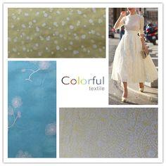 Unique Fabrics by Colorful Textile.