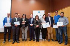 Ganadores de los premios de CaixaBank Emprendedor XXI en Navarra