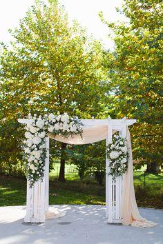 Elegant Outdoor Fall Wedding in October
