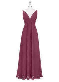 Shop Azazie Bridesmaid Dress - Maren in Chiffon. Find the perfect made-to-order bridesmaid dresses for your bridal party in your favorite color, style and fabric at Azazie.