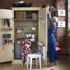 1000 images about storing craft supplies on pinterest craft rooms craft s - Rangement couture ikea ...