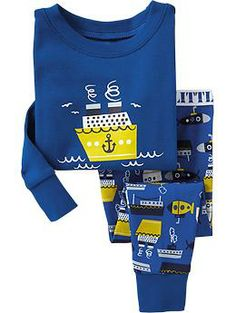 Printed PJ Sets for Baby (Old Navy 12m-5T)
