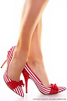 """Candy Cane"" Shoes"