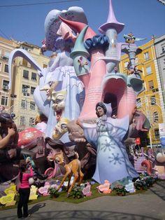 Traditional Festivity Las Fallas 2007 in Valencia, Spain