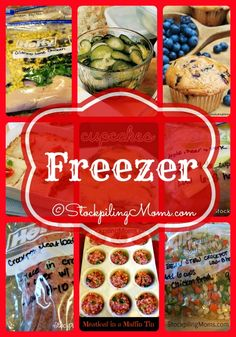 Freezer Recipes are the best to save time and money!