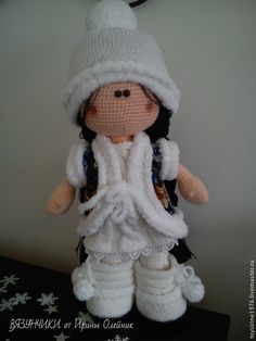Новогодняя кукла ВАРЯ. Handmade.
