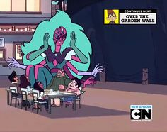 """I got Alexandrite! Which Gem From """"Steven Universe"""" Are You? << did anyone else notice that Garnet unfused into Saphire and Ruby then refused again? Steven Universe Gif, Steven Universe Fusion, Universe Art, Sugilite Steven Universe, Cartoon Shows, A Cartoon, Gem Fusions, Geek Out, Cartoon Network"""