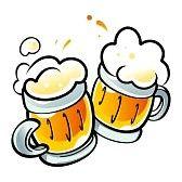 Dos jarros de cerveza.  Imágenes de archivo.