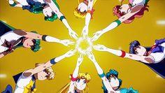Sailor moon crystal death busters