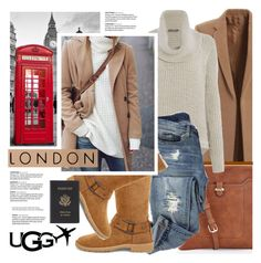 """""""The New Classics With UGG: Contest Entry (Ugg Travel)"""" by pianogirlzoe ❤ liked on Polyvore featuring Accessorize, Calvin Klein, UGG, Royce Leather, ugg, uggaustralia and uggtravel"""