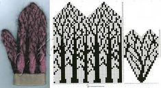 Terrific Screen knitting charts hats Tips ideas knitting charts hats mittens pattern, Knitted Mittens Pattern, Crochet Mittens, Knitted Gloves, Knit Crochet, Knitting Charts, Knitting Socks, Knitting Stitches, Knitting Patterns, Free Knitting