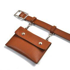 Women Casual PU Leather Belt Bag Solid Stylish Waist Bag is designer, see other cute bags on NewChic. Leather Bag Pattern, Leather Belt Bag, Pu Leather, Leather Gifts, Leather Bags Handmade, Chloe Bag, Balenciaga, Bag Women, Bucket Bag