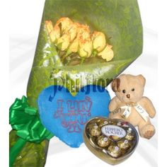 Online Flower Shop, Heart Pillow, First Anniversary, Orange Roses, Florists, Most Favorite, 6 Inches, Chocolates, Yellow