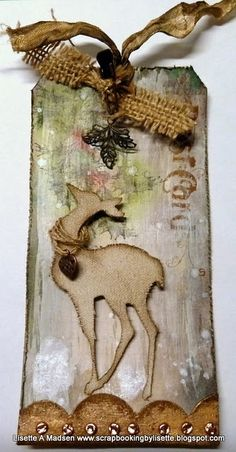 tim holtz christmas tags | My take on Tim Holtz´s 12 tags for christmas | Tim Holtz Love