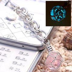 Okinawa Chura Stone Glow-in-the-dark Jewelry Amulet Strap by Hamee
