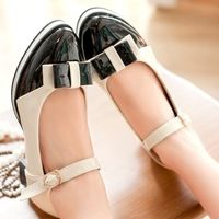 ENMAYER Fashion Women Flats Spring Summer Casual Shoes red yellow black beige Rome Straps Ballet Flats Shoes 2014 New Arrival