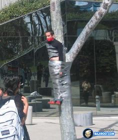 duct tape funny people images humor gags pranks pics pictures 5 Duct Taped Funny People You Never Seen Before This (20 Images)