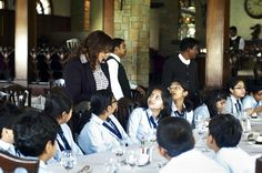 Zohra Chitalwala, Director and Founder of Image2Image zo's Consultation, introduced a program along with Image Makeover with a slightly different module for teenagers and youth.    She was recently given the opportunity by the Director of D Y Patil International School to teach Dining Etiquette and Grooming Skills to his school's children.