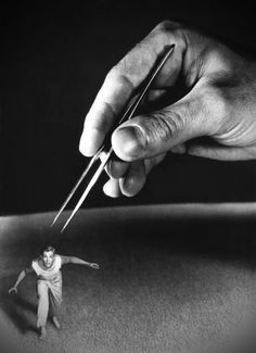 From Jack Arnold's The Incredible Shrinking Man (1957) starring Grant Williams. @Deidré Wallace