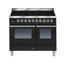 BuyILVE PDWI100E3/N Roma Freestanding Induction Range Cooker, Black Online at johnlewis.com