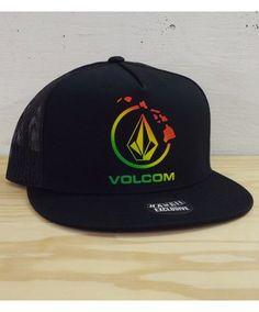 Men s Volcom Hawaii Mesh Trucker Hat - Nano Hawaii  Color Options  Black.   19.50 Available online at www.islandsnow.com and at the Island Snow Hawaii  Kailua ... 443745df6409