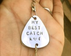Fishing Lure  For Him Boyfriend Gift Personalized Fishing