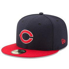 Men s Cincinnati Tigers New Era Navy Red Turn Back the Clock 59FIFTY Fitted  Hat 2e06f3b193c