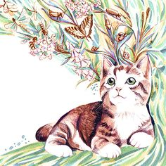 Meow Foundation calendar | Charlene Chua illustration - Blog, sketches, work in progress, etc