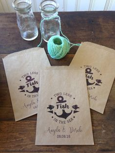 A personal favorite from my Etsy shop https://www.etsy.com/listing/286244675/wedding-favors-wedding-favor-bags-two