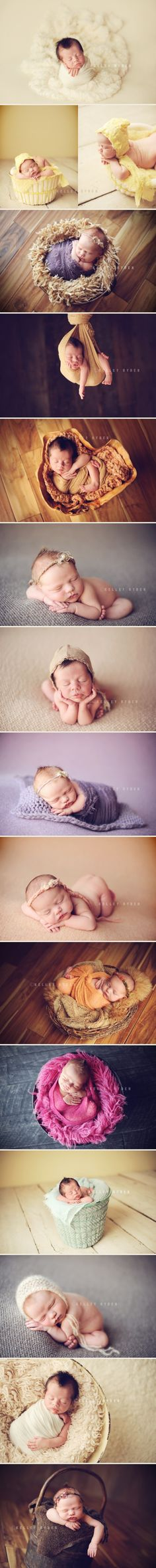 Recién nacidos con sus mejores poses
