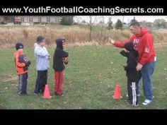 Youth Football Drills- Great video of some drills to run at home with your children.