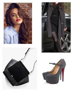 """""""Untitled #1568"""" by pandagirlcdm ❤ liked on Polyvore featuring Christian Louboutin"""