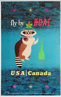 USA & Canada - BOAC