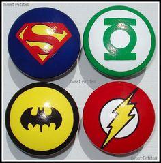 Superhero dresser knobs