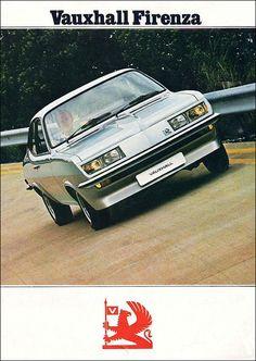 "1974 ""Droopsnoot"" Vauxhall Firenza"