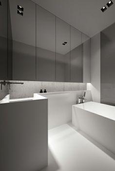 Bathroom by Oporski Architektura.