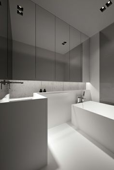 Bathroom by Oporski Architektura.