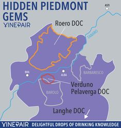 Wine Guide: The Hidden Gems Of Piedmont Italy #italywine