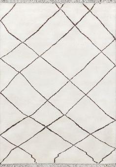 8289 - Moroccan Rug - Beni Ourain Tribal Rug - Shag Pile - Natural Wool - 200 X 300cm
