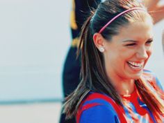 Alex Morgan<333. Seriously though, she's soo attractive #girlcrush