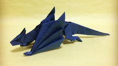 Origami dragon Ender Minecraft by Hare_ru - Yakomoga Origami tutorial Origami Yoda, Origami Ball, Dragon Origami, Instruções Origami, Origami Videos, Paper Crafts Origami, Origami Stars, Origami Flowers, Lotus Origami
