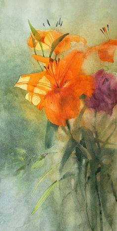 Sergei Kurbatov #watercolor jd
