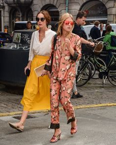 How about pyjamas??  Copenhagen fashion week :)