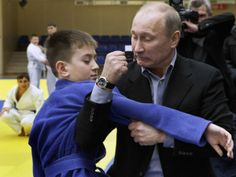 39 pictures of Vladimir Putin being an unfathomable badass. Or a guy with deep issues.