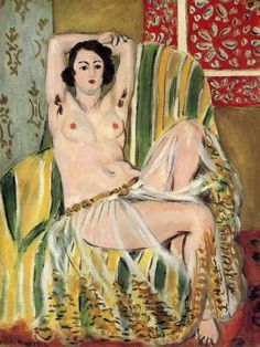 lanangon: Henri Matisse Mairah at a Moroccan Harem