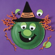 paper plate witch crafts - Google Search