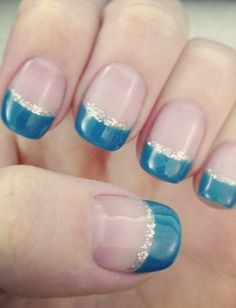 French Mani Makeover: 14 Must-See Updated Versions From Pinterest…